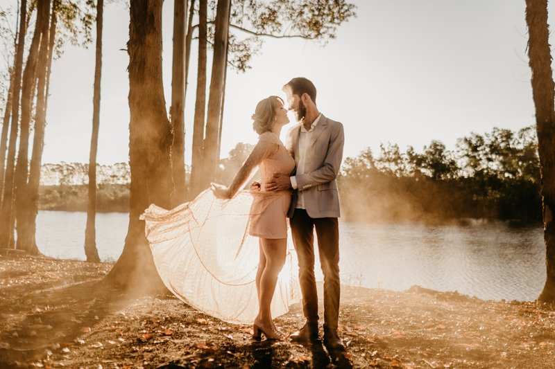 Blush Wedding – Hochzeit in Pastell